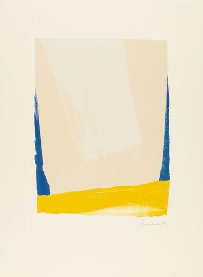 Helen Frankenthaler, 'White Portal', 1967