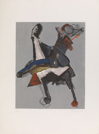 Marino Marini, 'Marino from Shakespeare I Plate II', 1977