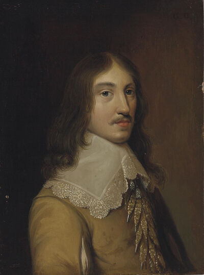 Gonzales Coques, 'Portrait of a gentleman, traditionally identified as a self-portrait of the artist, bust-length'