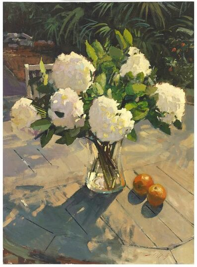 Paul Rafferty, 'Hydrangeas and Oranges', 2016