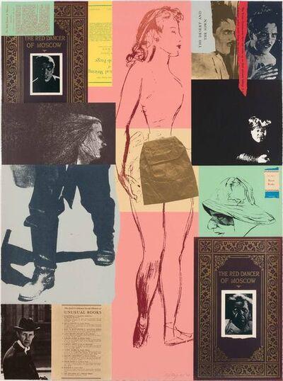 R. B. Kitaj, 'RED DANCER (K. 81)', 1975