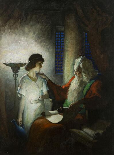 N.C. Wyeth, 'Eli and the Boy Samuel', 1928