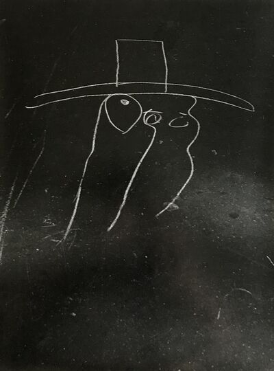 Helen Levitt, 'New York (Large hat, minimal drawing)', 1938