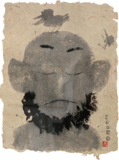 Wang Yuping, 'Bird & Man (Front)', 2000