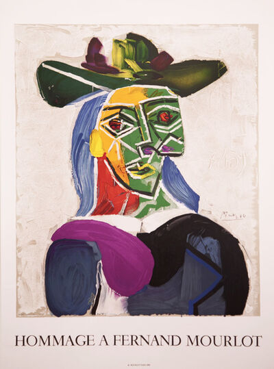 Pablo Picasso, 'Hommage a Fernand Mourlot', 1990