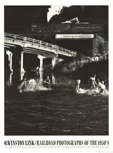 O. Winston Link, 'Hawksbill Creek Swimming Hole', 1988