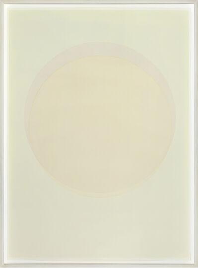 Olafur Eliasson, 'Large watercolour orange circle', 2015