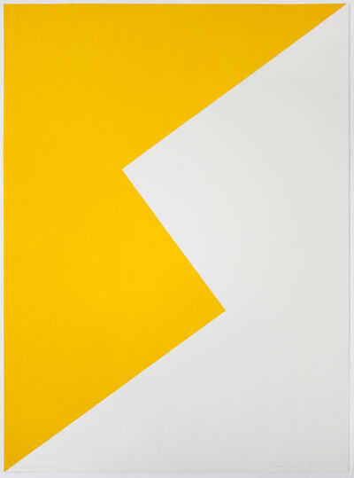 Leon Polk Smith, 'Untitled (Tamarind K)', 1968