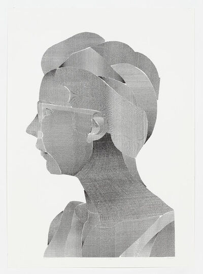 Thomas Bayrle, 'Inge', 1990
