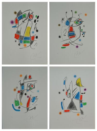 Joan Miró, 'Maravillas con variaciones acrostricas (4 works)', 1975