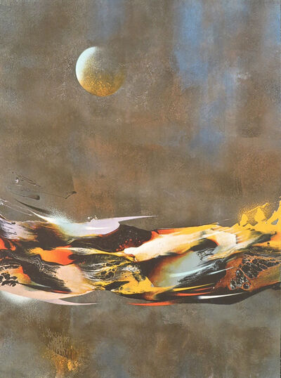 Leonardo Nierman, 'Constellation from the Cosmic Energy Suite', 1980