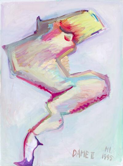 Maria Lassnig, 'Dame II', 1995