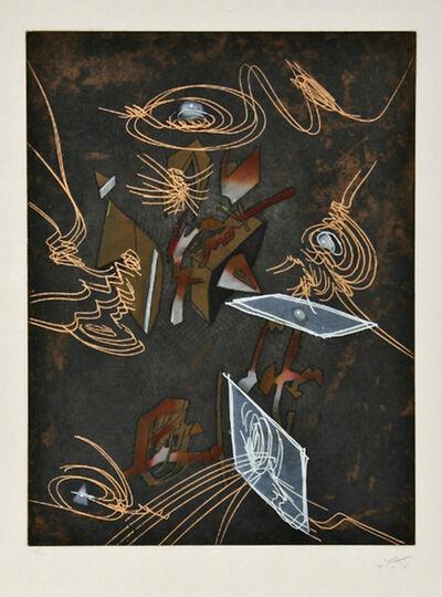 Roberto Matta, 'Hom'mere V N'ous - plate II', 1985