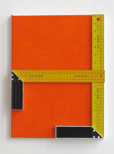 John Nixon, 'Untitled (two set squares)', 2014