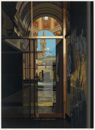 Richard Estes, 'Salzburg Cathedral', 1972