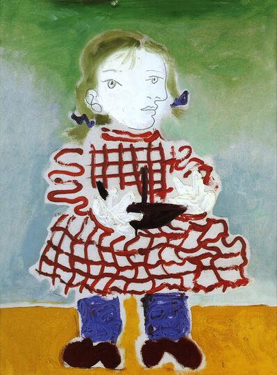 Pablo Picasso, 'Maya au tablier rouge', 1978