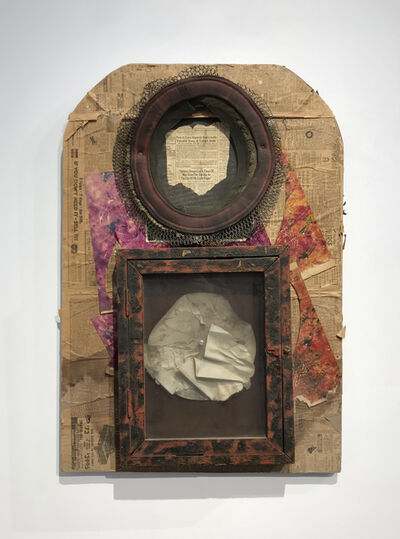 George Herms, 'Untitled (Valuable Dung)', 1988
