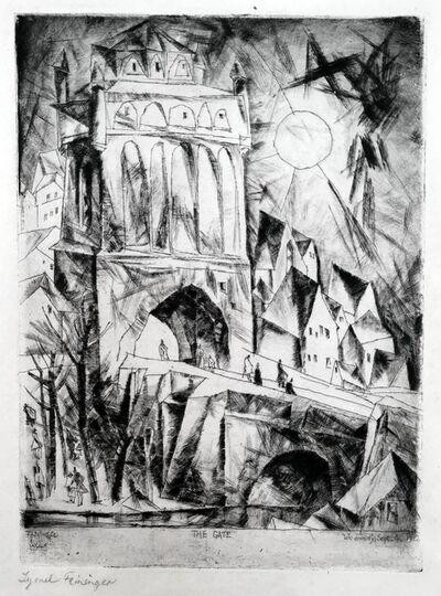 Lyonel Feininger, 'Das Tor', 1912
