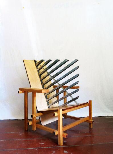 Daniel Murgel, 'Design of Disturbance - Ofendículo Bauhaus para cadeira do Gerrit Rietveld', 2015