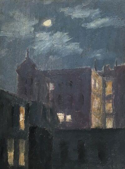 Manierre Dawson, 'Night Sky with Buildings', ca. 1904