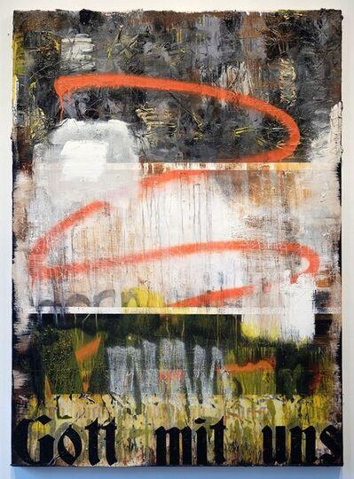 Zavier Ellis, 'Gott mit uns', 2017