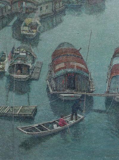 Chen Zhang Hong, 'Boat life (5)', 2008
