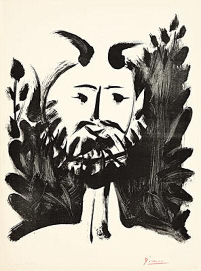 Pablo Picasso, 'Faune souriant', 1948