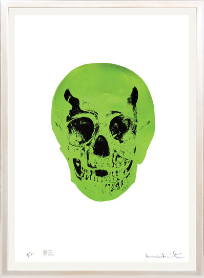 Damien Hirst, 'The Sick Dead - Lime Green/Racing Green.', 2015