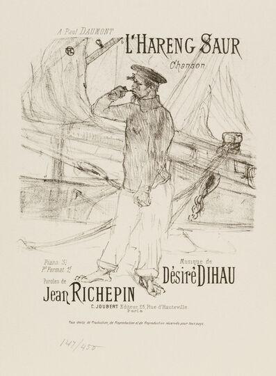 Henri de Toulouse-Lautrec, 'L'HARENG SAUR (The Smoked Herring)', 1895-1896