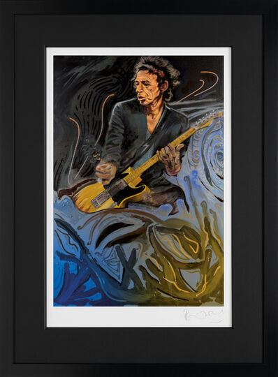 Ronnie Wood, 'The Blue Smoke Suite - Keith', 2012