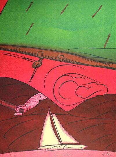 Valerio Adami, 'En Solitaire', 1984