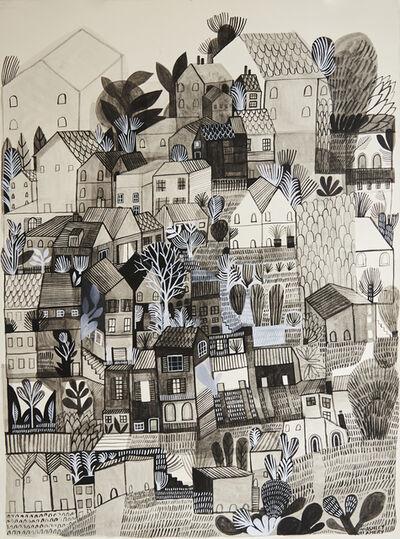 Ashley Amery, 'Village Gardens', 2020