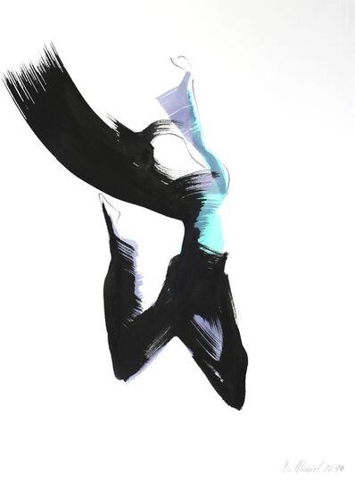 Bettina Mauel, 'The Blue Scarf 1 (framed)', 2014