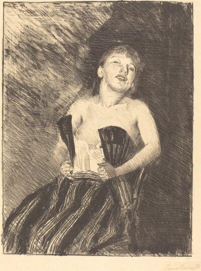 Lovis Corinth, 'Girl in a Corset (Mädchen im Korsett)', 1895
