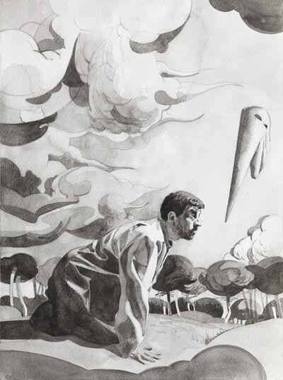 Manuel León, '¿Cuál es el problema real?', 2015