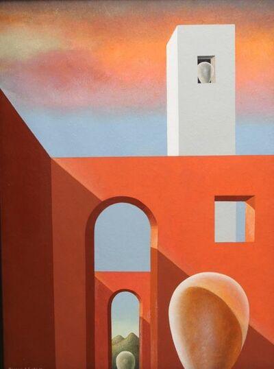 "Clarence Holbrook Carter, 'Study for Sentinels ""B""', 1985"