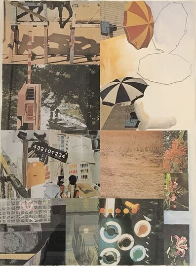 Robert Rauschenberg, 'Print for the Center for Performing Arts', 1983