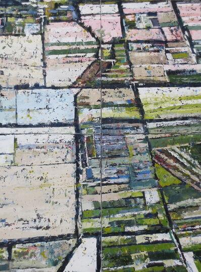 Kim Ford Kitz, 'Pastel Fields (quadriptych)', 2018