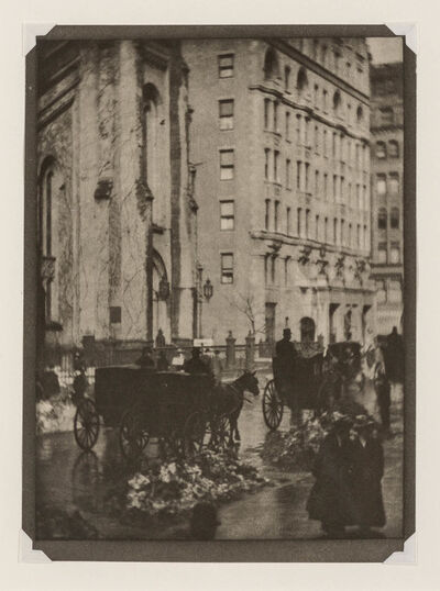 Alvin Langdon Coburn, 'Two photogravures extracted from London'