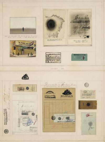 Saul Steinberg, 'Park Avenue Documents', 1969
