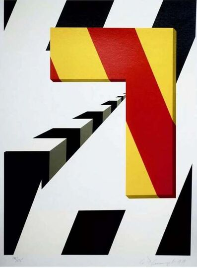 Allan D'Arcangelo, 'Left Turn', 1979