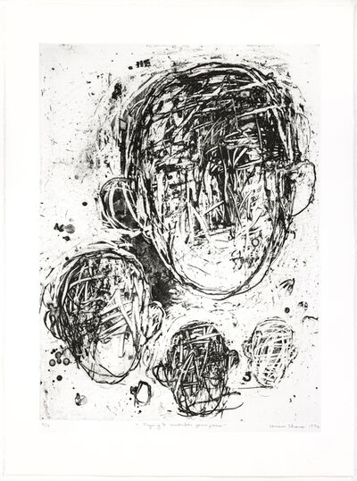 Louisa Chase, 'Trying to Remember Your Face', 1997