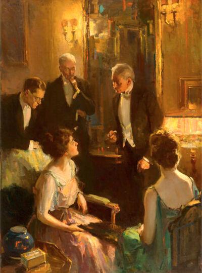 Pruett Alexander Carter, 'An Evening Conversation', 20th Century
