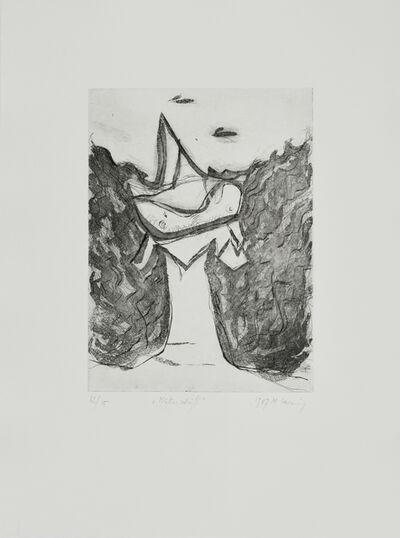 Maria Lassnig, 'Mutterschiff', 1987