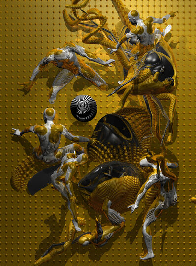 Konstantin Khudyakov, 'The Battle of Man and Flies', 2016