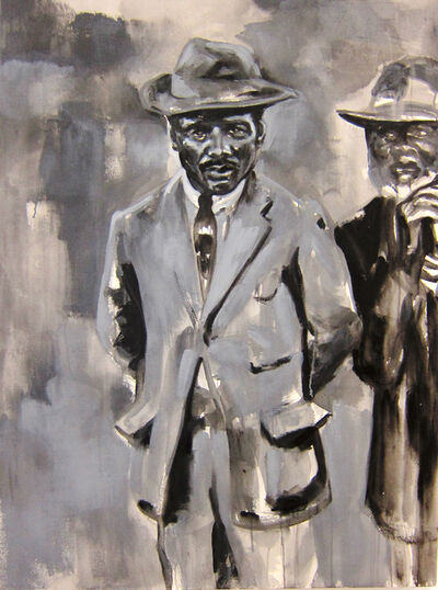 Raél Jero Salley, 'Man Looking', 2013