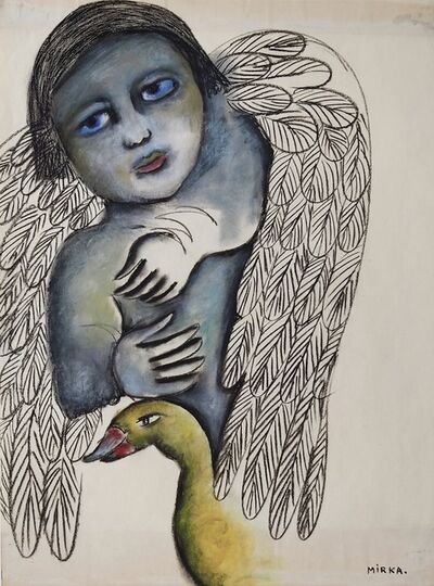 Mirka Mora, 'Birth Of An Angel', ca. 1970
