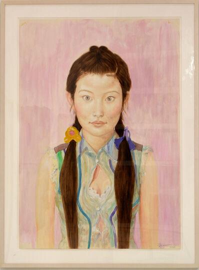 Qi Zhilong, 'Portrait of a Woman', 2008