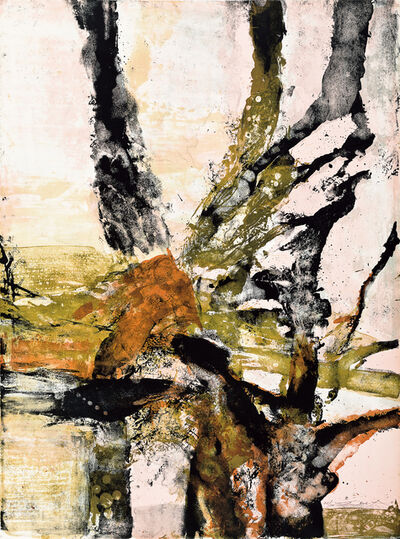 Zao Wou-Ki 趙無極, 'Tree of Life (5 works)', 1988