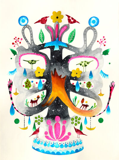 Masako Miki, 'Tree of Life With Shapeshifters', 2020
